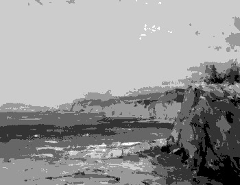 Value in Grayscale of a Painting