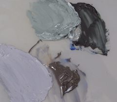 Grays Mixed from Student Grade Paint vs. Artist Grade Paints