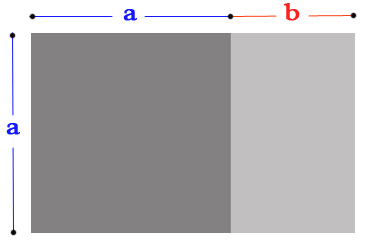 True Golden Ratio Rectangle