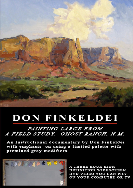Don Finkeldei: Painting Larger from a Field Sketch