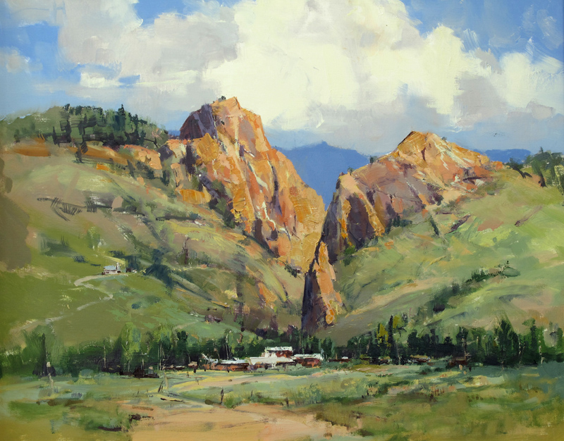 View of Creede